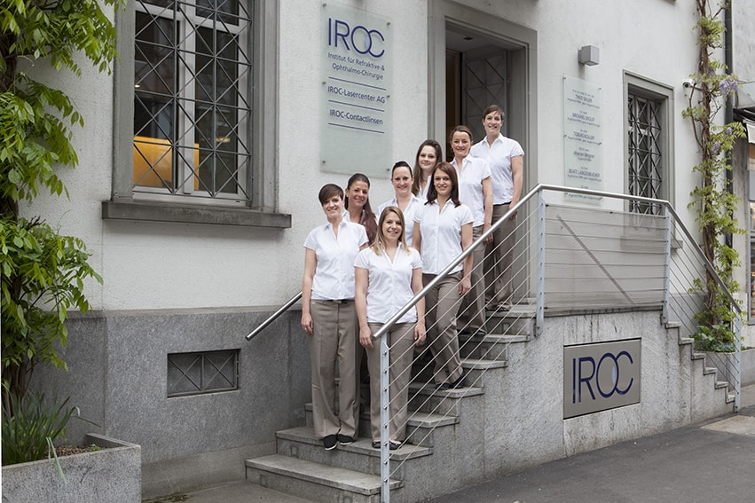 Iroc Zurich Stockerstrasse 37 team photo